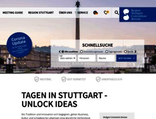congress.stuttgart-tourist.de screenshot