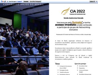 congresso.anjosdobrasil.net screenshot
