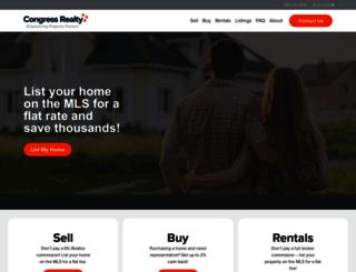 congressrealty.com screenshot