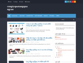 congtyquatangquangcao.blogspot.com screenshot
