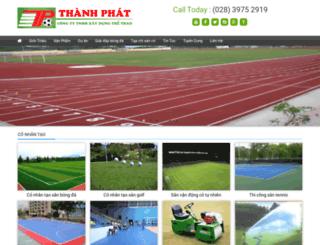 conhantaothanhphat.com.vn screenshot