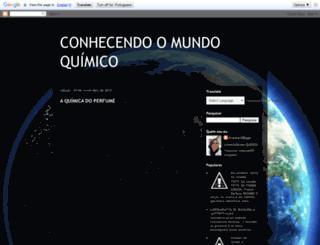conhecendomundoquimico.blogspot.com.br screenshot