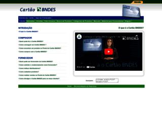 conhecer.cartaobndes.gov.br screenshot
