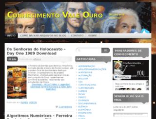 conhecimentovaleouro.wordpress.com screenshot