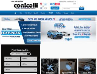 conicelliautoplex.com screenshot
