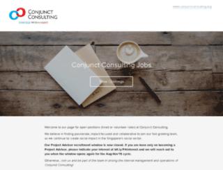 conjunctconsulting.recruiterbox.com screenshot