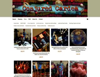 conjuredcardea.indiemade.com screenshot