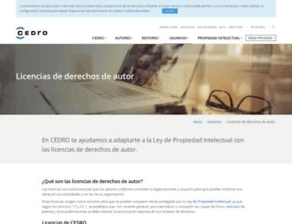 conlicencia.com screenshot