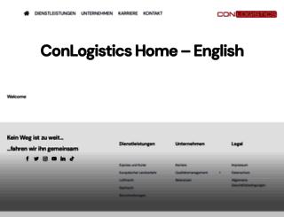 conlogistics.net screenshot