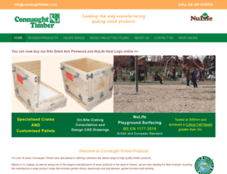 connaughttimber.com screenshot