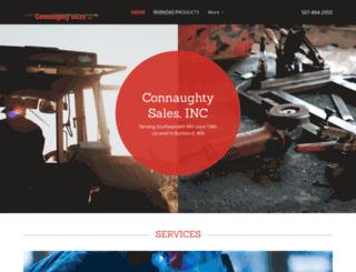 connaughtysales.com screenshot
