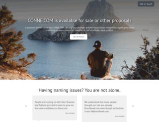conne.com screenshot