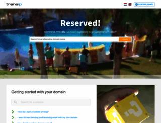 connect-me.eu screenshot