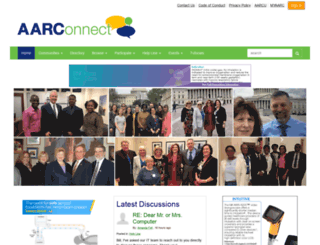 connect.aarc.org screenshot
