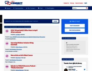 connect.ala.org screenshot