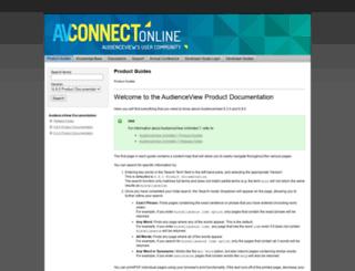 connect.audienceview.com screenshot