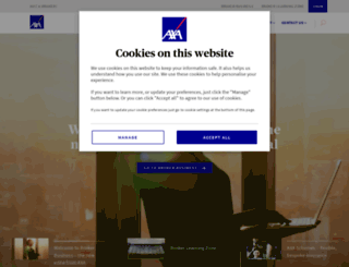 connect.axa.co.uk screenshot