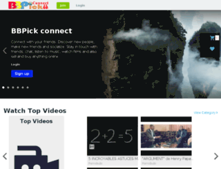 connect.bbpick.com screenshot