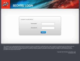 connect.bechtel.com screenshot