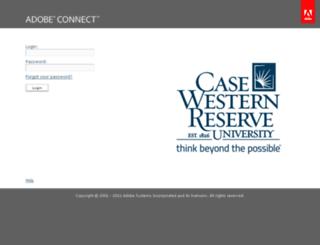 connect.case.edu screenshot