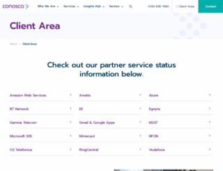 connect.conosco.com screenshot