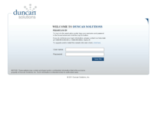 connect.duncansolutions.com screenshot