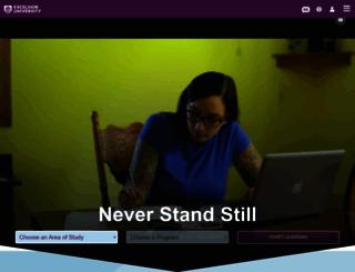 connect.excelsior.edu screenshot