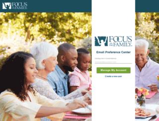 connect.focusonthefamily.com screenshot