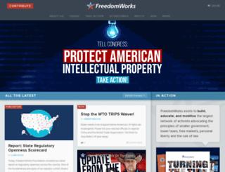 connect.freedomworks.org screenshot