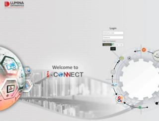 connect.luminad.com screenshot