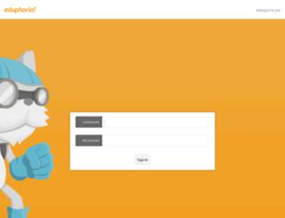 connect.mesquiteisd.org screenshot