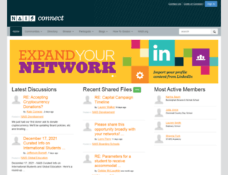 connect.nais.org screenshot