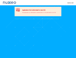 connect.nuxeo.com screenshot