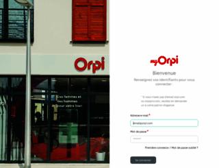 connect.orpi.coop screenshot
