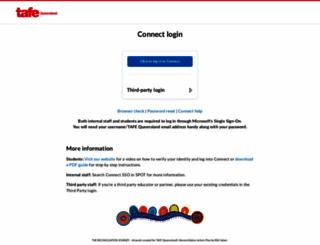 connect.tafeqld.edu.au screenshot
