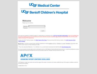 connect.ucsfmedicalcenter.org screenshot