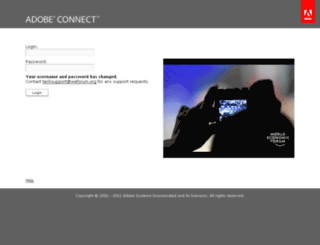 connect.weforum.org screenshot