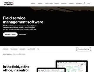 connect2field.com screenshot