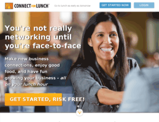 connect4lunch.com screenshot