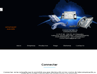 connectar.com.co screenshot