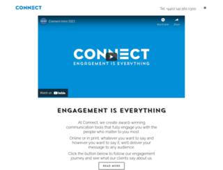 connectcommunications.co.uk screenshot
