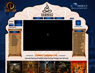 connectdarshan.com screenshot