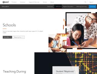 connected.esri.com screenshot