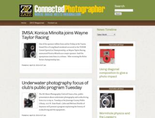 connectedphotographer.com screenshot
