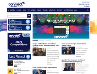 connectfm.com screenshot