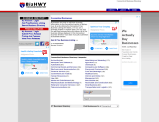 connecticut.bizhwy.com screenshot