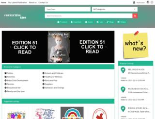 connectingkidz.co.za screenshot