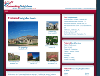 connectingneighbors.com screenshot