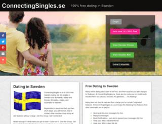 connectingsingles.se screenshot
