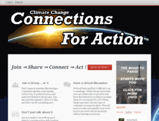 connectionsforaction.solutions screenshot